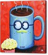 Mr. Coffee Acrylic Print