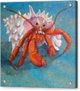 Mr. Crab Acrylic Print