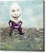 Mr. Egg Head Acrylic Print