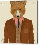 Mr Fox Acrylic Print