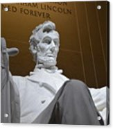 Mr. Lincoln Acrylic Print