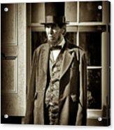 Mr Lincoln Acrylic Print