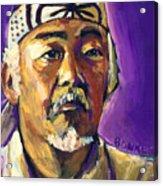 Mr Miyagi Acrylic Print