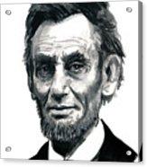Mr President Acrylic Print