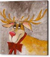 Mr Reindeer Acrylic Print