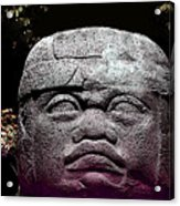 Mr Stone Head Acrylic Print