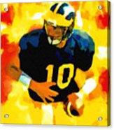 Mr. Tom Brady Acrylic Print