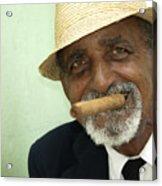 Mr Trinidad  Acrylic Print