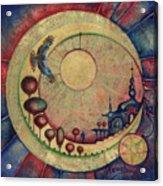 Mr Twardowski On The Moon Acrylic Print