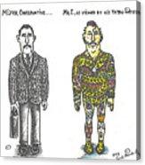 Mr.c Acrylic Print