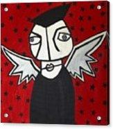 Mr.creepy Acrylic Print by Thomas Valentine