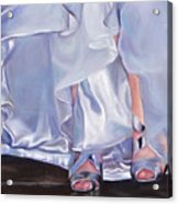 Mrs Beetose Acrylic Print by Denise H Cooperman