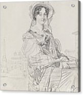Mrs. Charles Badham Acrylic Print