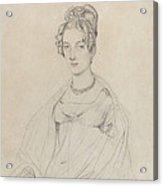 Mrs. Edward Dodwell Acrylic Print