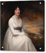 Mrs Macdowall Acrylic Print