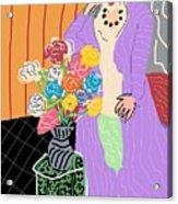 Mrs. Matisse Acrylic Print