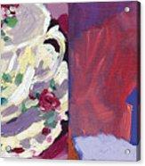 Mrs Patterson S Tea Cup 6254 Acrylic Print