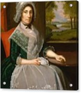 Mrs Richard Alsop 1792 Acrylic Print
