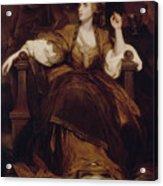 Mrs Siddons As The Tragic Muse Acrylic Print