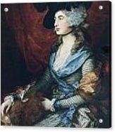 Mrs Siddons. British Actress Sarah Acrylic Print