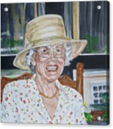 Mrs Spencer Acrylic Print