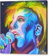Mrs Ziggy Stardust Acrylic Print