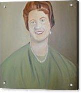Ms. Bryant Acrylic Print