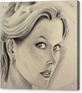 Ms. Kidman Acrylic Print
