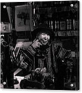 Ms. Kuro Acrylic Print
