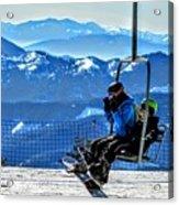 Up The Mountain  Acrylic Print