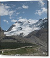 Mt Athabasca Acrylic Print by Kenneth Hadlock