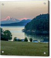 Mt Baker At Sunset Acrylic Print