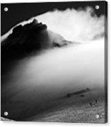Mt. Baker Storm Acrylic Print