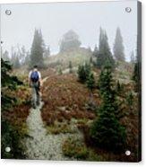 Mt Brown Lookout - Glacier National Park Acrylic Print