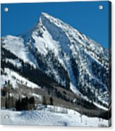 Mt Crested Butte Acrylic Print