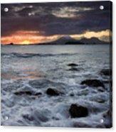 Mt. Edgecumbe Sunset Acrylic Print