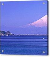 Mt Fuji Kanagawa Japan Acrylic Print