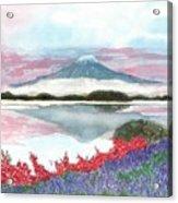 Mt. Fuji Morning Acrylic Print