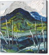 Mt Gosford Acrylic Print