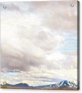 Mt Hekla Acrylic Print