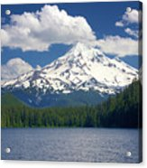 Mt Hood From Lost Lake Acrylic Print