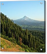 Mt Hood In The Distance Acrylic Print