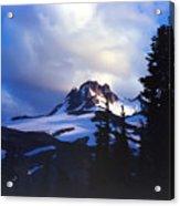 Mt. Jefferson Photograph Acrylic Print
