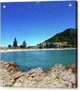 Mt Maunganui Beach 9 - Tauranga New Zealand Acrylic Print
