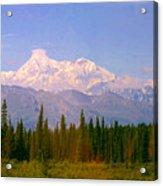 Mt Mckinley 125 Miles Away Acrylic Print