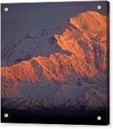 Mt. Mckinley Sunset Acrylic Print