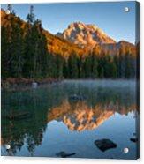 Mt. Moran From String Lake Acrylic Print