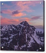 Mt. Of The Holy Cross Vertical Acrylic Print