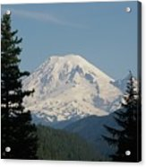 Mt Rainer From The Hills In Packwood Wa  Acrylic Print