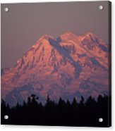 Mt. Rainier Washington Acrylic Print by Robert  Torkomian